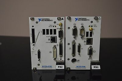 Lot of 2 Controllers National Instruments - PXIe-8130 and PXI-8186