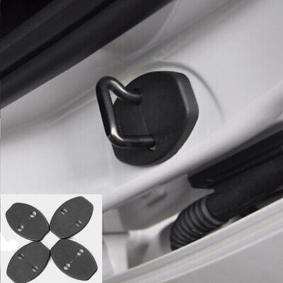 4Pcs New Car Door Lock Ring Protective Cover Door Protector Case For VW For Audi