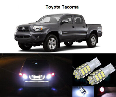 Premium LED Reverse Backup Light Bulbs for 2005 - 2018 Toyota Tacoma T15 42SMD