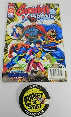 Marvel X-Men Gambit and the Xternals #1 March 1995 Comic Book