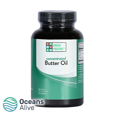 X Factor™ Gold Butter Oil - 120 Capsules - Green Pasture - Vitamin K2, CLA