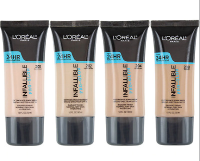 L'oreal Paris Infallible Pro-Glow 24Hr Foundation, You Choose!