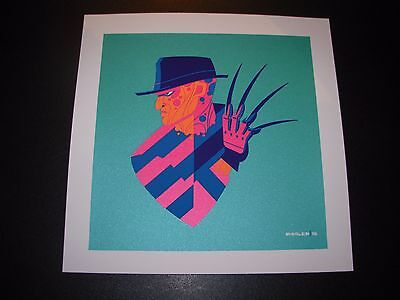 MICHAEL MYERS Halloween shap/'d art silkscreen print Tom Whalen
