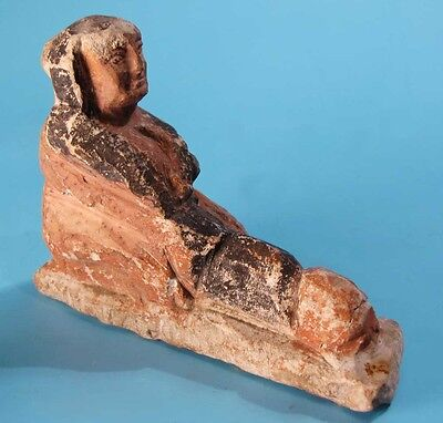 Egyptian Limestone Erotic Figure  - Ancient Art & Antiquities