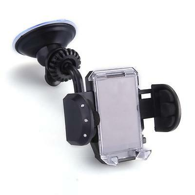 Car Black 360 Degree Air Vent Dash Holder Cradle Mount for Cell Phone iPhone