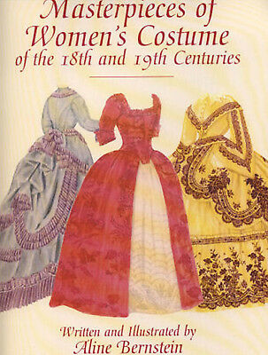 """Masterpieces Women's Costumes 18th - 19th Centuries Fashion Patterns Doll 7-10"""""""