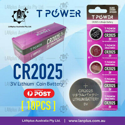 10x CR2325 3V Lithium Batteries STOCK IN Melbourne Button Coin CR 2325 CR-2325