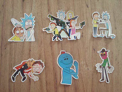 Rick And Morty Sticker Lot # 2 Funny TV Cartoon