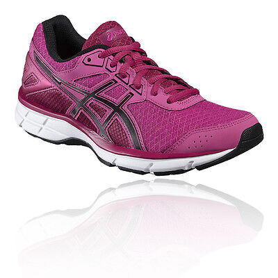 Asics Gel-Galaxy 9 Womens Pink Cushioned Running Sports Shoes Trainers