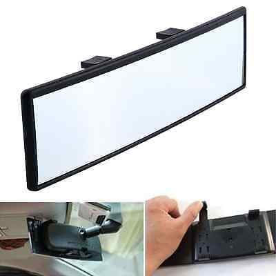 240mm Car Interior Rearview Convex Curve Face Wide Rear View Mirror Clip On