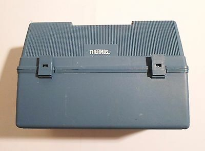 Thermos Canadian Thermos Products Rare Blue Lunch Box 12' Length