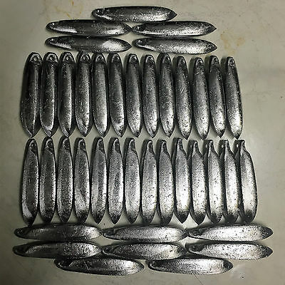 Snapper Reef Lead Fishing Sinkers 8oz x 40  Other sizes available