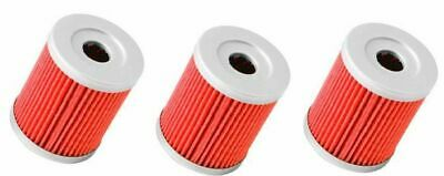 Three Pack Oil Filters Suzuki Ltf160 Quad Runner 89 - 09 Replacement For Hf132