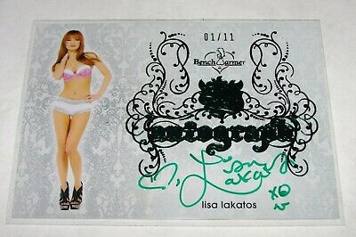 2015 Benchwarmer LISA LAKATOS #51 Sin City Green/11 Deal Or No Deal ANDY BARKER