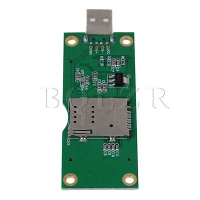 Mini PCI-E to USB Adapter with SIM 8 Pin Card Slot for 4G WLAN HSPA Module