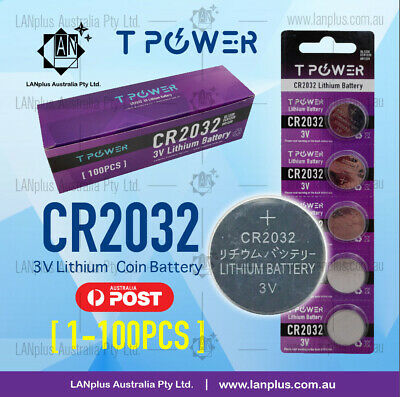 CR2032 CR 2032 3V Lithium Batteries STOCK IN Melbourne 4 Watch Alarm Camera Key