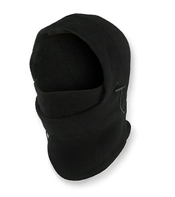 6-in-1 Thermal Fleece Balaclava Hood Police Swat Ski Bike Wind Stopper Face Mask