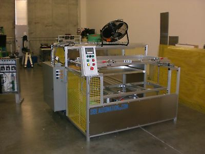 "Sibe Automation Vacuum Forming Machine 24"" X 48"" Top & Bottom Heaters 16 Zones"
