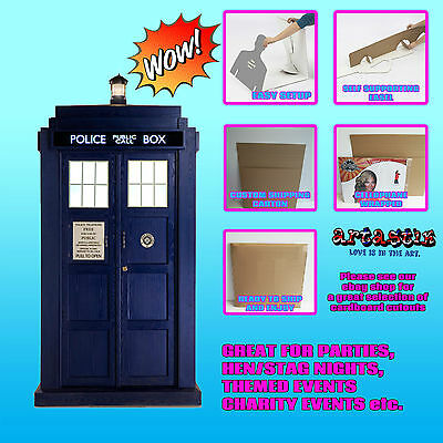 Dr Who's Tardis Official LIFESIZE CARDBOARD CUTOUT