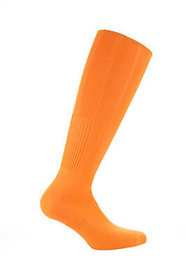 Samson® Orange Football Plain Socks Rugby Hockey Soccer Mens Womens Kids