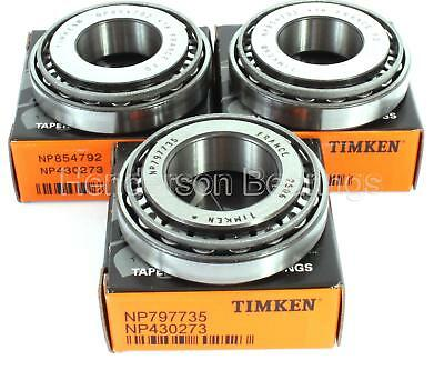 Vauxhall M32/M20 Gearbox end case replacement kit Timken