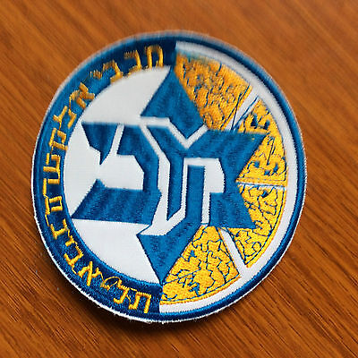 Patch Badge Maccabi Tel Aviv Bc - Euroleague Basket - Israel Premier League