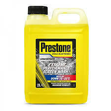 Prestone SW2 Concentrated Performance Screen Wash 2L