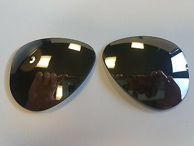 Vintage Pre '70 Ray Ban Bausch & Lomb RB3 Green Aviator Replacement Lenses 58mm