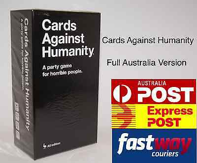 Cards Against Humanity V1.7 Australia AU Edition BASE SET 550 Cards Party Game