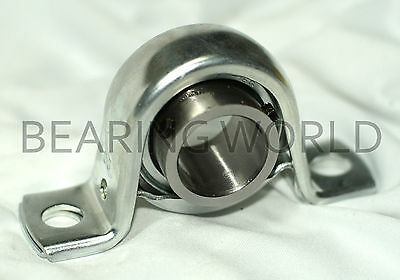 "NEW SBPP204-12 High Quality 3/4"" Set Screw Pressed Steel Pillow Block Bearing"