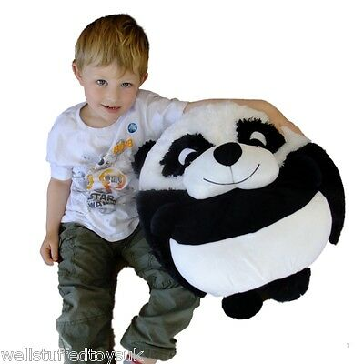 "Giant Puffy Plush Panda Round Pillow 18"" Kelly Toy Soft Cushion …"