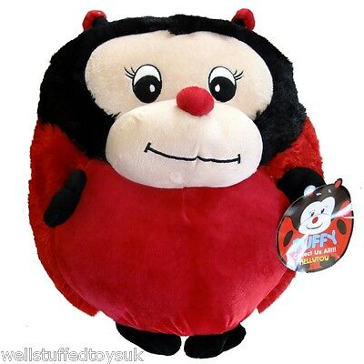 "Giant Puffy Plush Ladybird Round Pillow 18"" Kelly Toy Soft Cushion …"