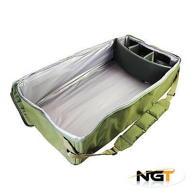 NEW NGT Large Deluxe Universal Padded Bait Boat Bag Fits Bait Boats Carp Fishing
