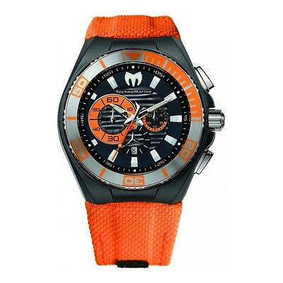 f05655bf88 TECHNOMARINE CRUISE LOCKER Chronograph Silver Dial Mens Watch 115164 ...