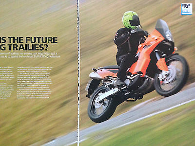 Ktm 950 Adventure S # Road Test # 6 Page Original Motorcycle Article