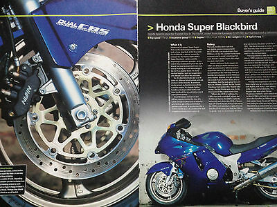 Honda Cbr1100Xx Super Blackbird # Buyers Guide # 6 Page Motorcycle Article