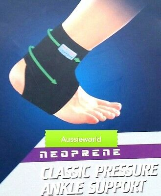 2015 Premium Adjustable ANKLE Foot Brace Support Protection Breathable NEW
