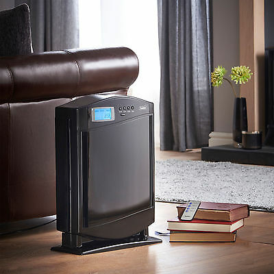 Large Air Ionizer Purifier Home Room Cleaner Odours Fresh HEPA Filter Smoke Big