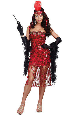 Brand New Flapper 1920s Gatsby Ain't She Sweet Adult Costume