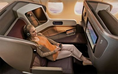 Cathay Pacific Up to 50% Business/First class ticket To Asia off FREE INSTALMENT