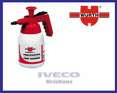 New Genuine Wurth Pump Brake Cleaner Spray Bottle 1L 0891503002