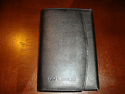 2010 Lexus Is 350 / Is 250 / F Owners Manual Set With Case