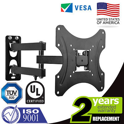 Full Motion TV Wall Mount Articulating 24 27 32 40 42 Inch LED LCD Flat Screen