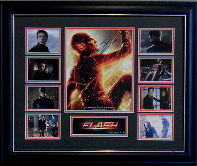 The Flash Dc Comics Signed Limited Edition Framed Memorabilia