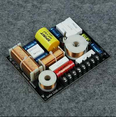 3-way Tweeter / Midrange / Woofer Speaker Frequency Divider Crossover Filters