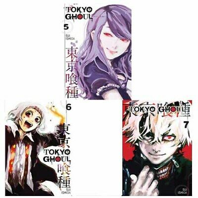 Tokyo Ghoul Collection Vol(5,6,7) 3 Books set By Sui Ishida Paperback Brand New