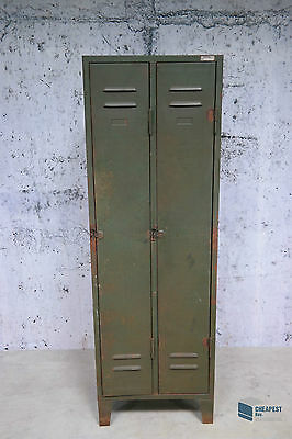 KIB Cottbus Metall-Spind Loft Möbel Schrank Vintage Industriedesign shabby look