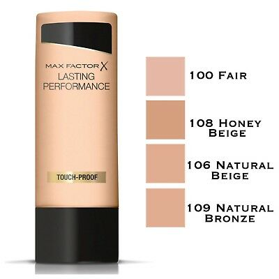 Max Factor Lasting Performance Foundation 35ml - Choose Your Shade