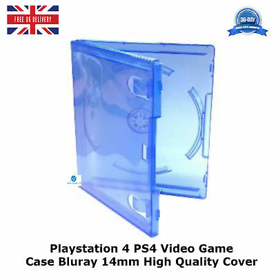 10 x PlayStation 4 PS4 Video Game Case New Empty Replacement Cover Amaray HQ A++