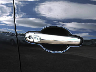 Chrome Door Handle Covers Trim Set Stainless Steel 4 Handles for Nissan Juke